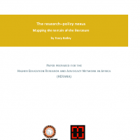 Bailey – The researchâ€policy nexus FINAL1