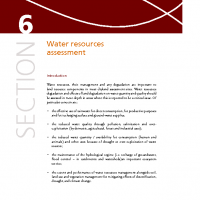 FAO WaterResources assessment