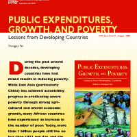 IFPRI Brief – Public Spending, Growth and Poverty Reduction