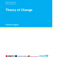 Unicef and Better Evaluation Theory of Change
